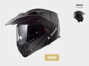 KASK LS2 FF324 METRO EVO SOLID MATT BLACK  Czarny Matt - model: Rok 2019 !