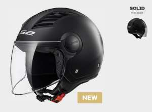 KASK LS2 OF562 AIRFLOW  SOLID MATT BLACK