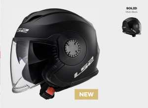 KASK LS2 OF570 VERSO SOLID MATT BLACK