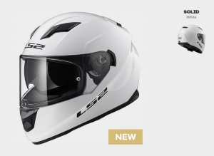 KASK LS2 FF320 STREAM SOLID WHITE
