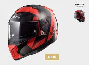 KASK LS2 FF390 BREAKER PHYSICS BLACK RED