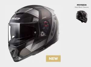 KASK LS2 FF390 BREAKER PHYSICS MATT BLACK TITANUM