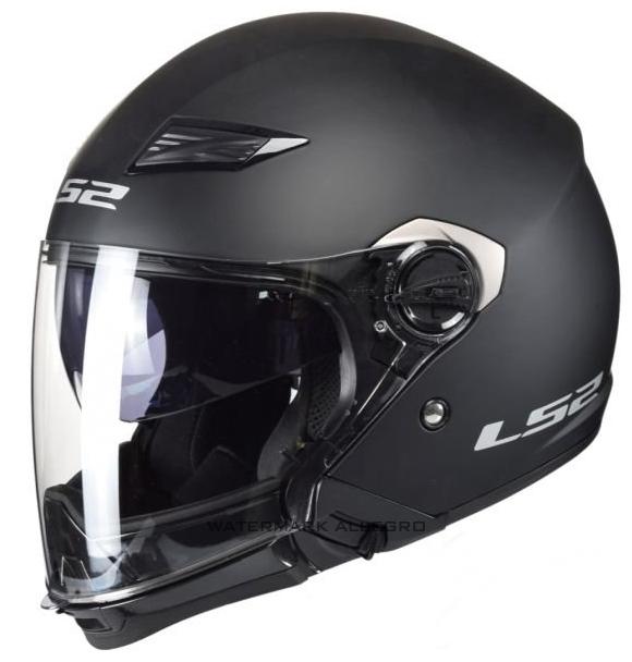 Kask LS2 OF569.2 TRACK Black matt czarny matt BLENDA ! LS2